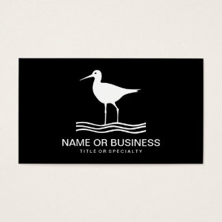 bird icon business card