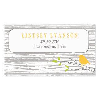 Bird in a Birch Tree Calling Card Business Card