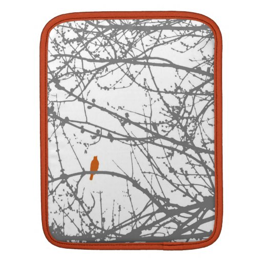 Bird in a Maple iPad Sleeves