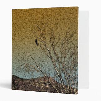 Bird in a tree vinyl binder