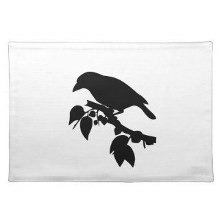 Bird in a Tree Cloth Placemat