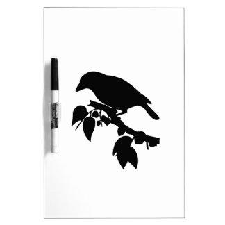 Bird in a Tree Dry-Erase Board