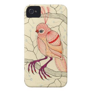 bird in a tree iPhone 4 case