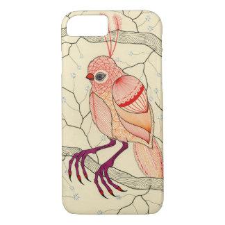 bird in a tree iPhone 7 case