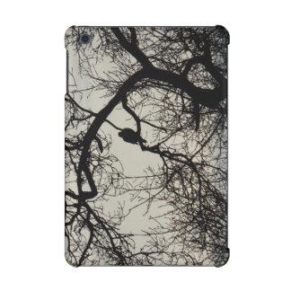 Bird in a tree silhouette Design iPad Mini Retina Case