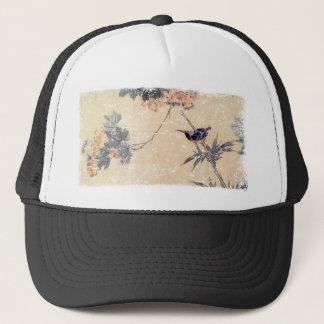 Bird in Bamboo Trucker Hat