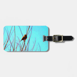 Bird In Branches Luggage Tags