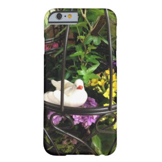 Bird In Cage With Flowers Barely There iPhone 6 Case