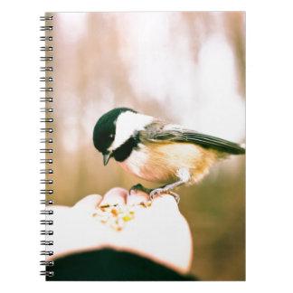 Bird in hand note book
