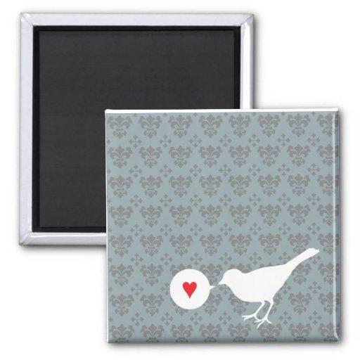 Bird in Love magnet