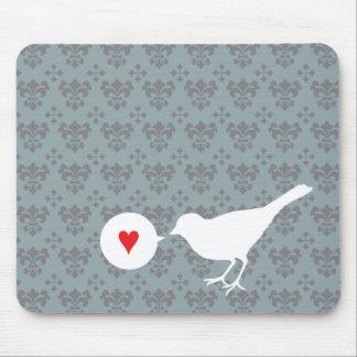 Bird in Love mousepad