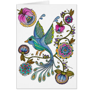 Bird in Paradise Card