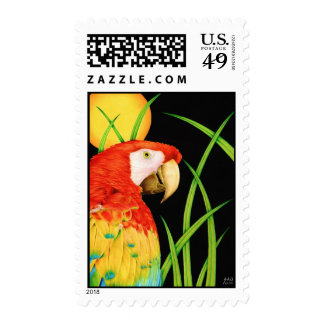 Bird in Paradise Postage Stamps