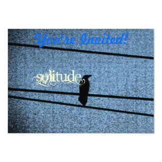 Bird in Solitude Card
