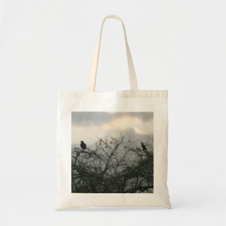 Bird in the Storm Tote Bag