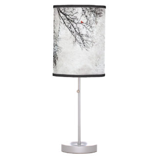 bird in tree lamp, copyright Karen J Williams Desk Lamp