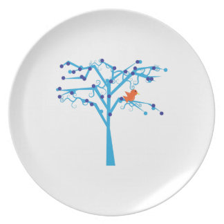 Bird In Tree Party Plates