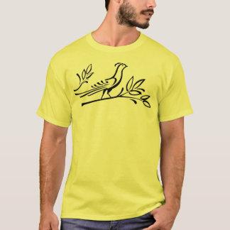 Bird In Tree T-Shirt Black