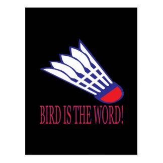 Bird Is The Word 2 Postcard