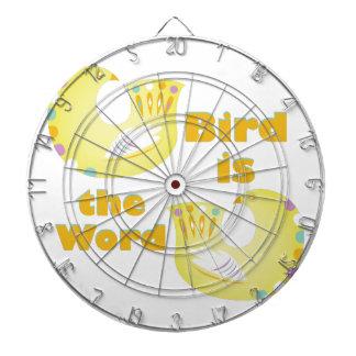 Bird Is Word Dartboards