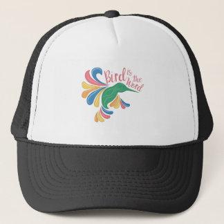 Bird Is Word Trucker Hat