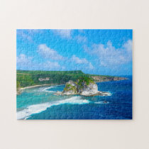 Bird Island  Mariana Islands. Jigsaw Puzzle