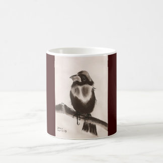 BIRD - JAPANESE STYLE ART COFFEE MUG