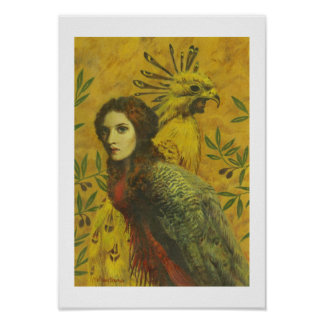 Bird Lady Fine Art Print