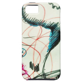 Bird Line and the Dancing Pen iPhone SE/5/5s Case