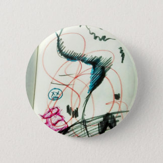 Bird Line and the Dancing Pen Pinback Button