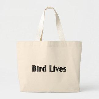 Bird Lives Jumbo Tote Bag