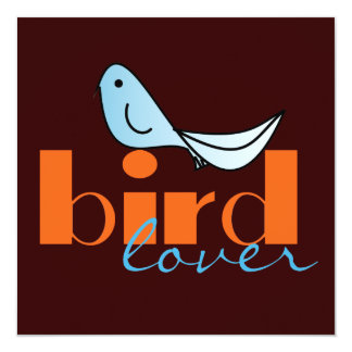 Bird Lover Invitation