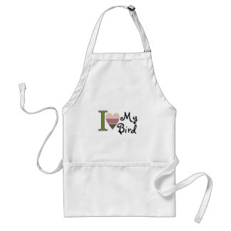 Bird lover merchandise adult apron