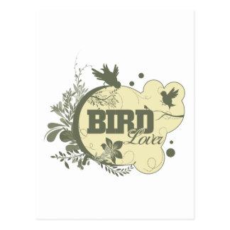 Bird Lover Nature Postcard