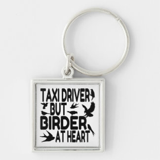 Bird Lover Taxi Driver Keychain