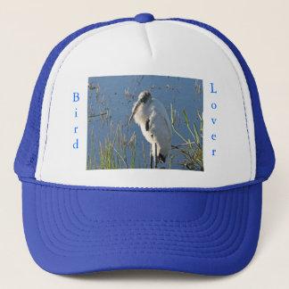 Bird Lover- Wood Stork Trucker Hat