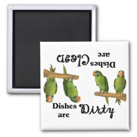 Bird Lovers Dishwasher Magnet
