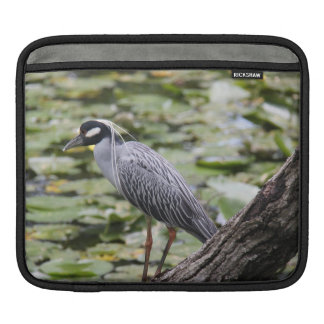 Bird Lover's iPad Sleeve, Blue Heron Sleeve For iPads