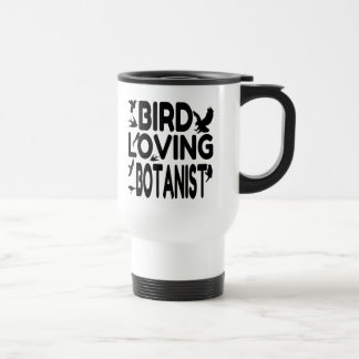 Bird Loving Botanist Travel Mug