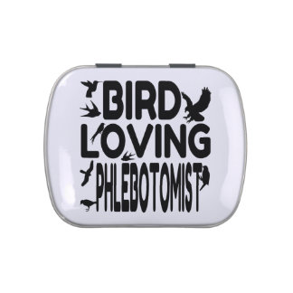 Bird Loving Phlebotomist Jelly Belly Tins