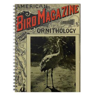 Bird Magazine jul 3 1903 Spiral Notebook