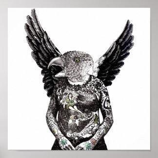 Bird Man from Birdland Poster
