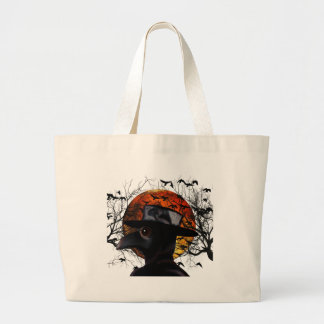 Bird-man Large Tote Bag