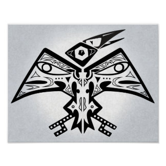Bird-Man - Native American Art Poster 11x14