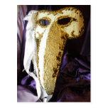 Bird Mask Postcard