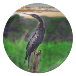 Bird Melamine Plate