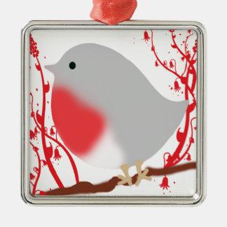 bird metal ornament