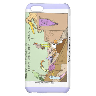 Bird Ministries Funny Mugs Cards & Gifts iPhone 5C Covers
