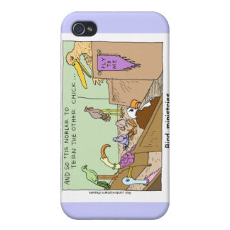 Bird Ministries Funny Mugs Cards & Gifts iPhone 4 Cover