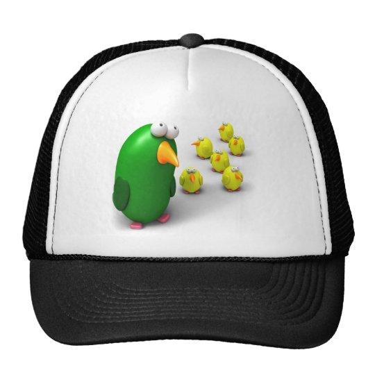 Bird mom and Chicks Trucker Hat